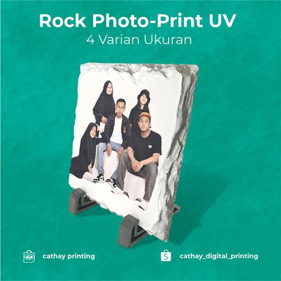 Rock Photo-Print UV
