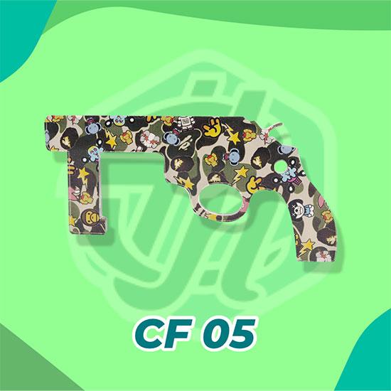 Corona Finger Akrilik CF05 (Pistol Bape)