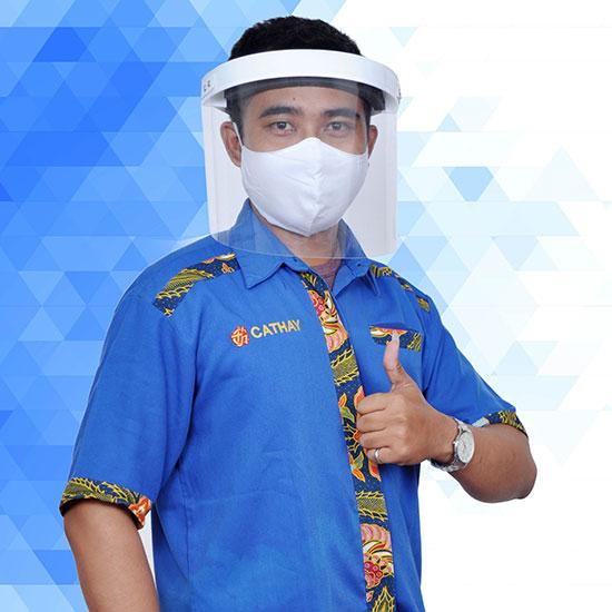 Face Shield APD Akrilik