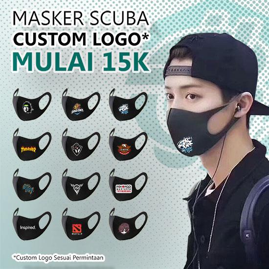 Masker Scuba + Poliflex (Fix Design)