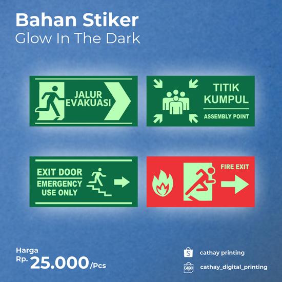 Sticker Glow in the dark (15X35cm)
