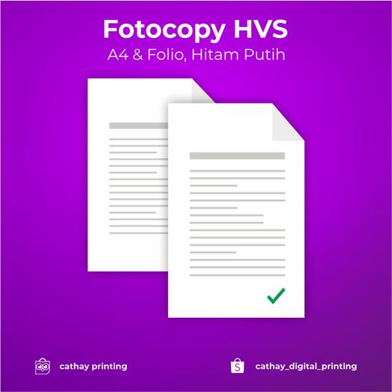 Fotocopy HVS