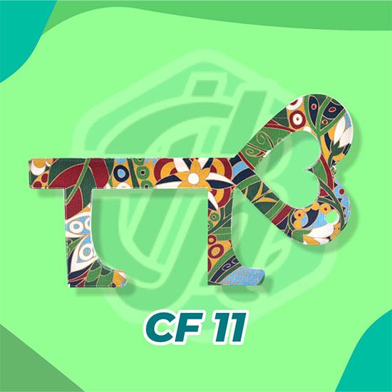 Corona Finger Akrilik CF11 (Key Heart)