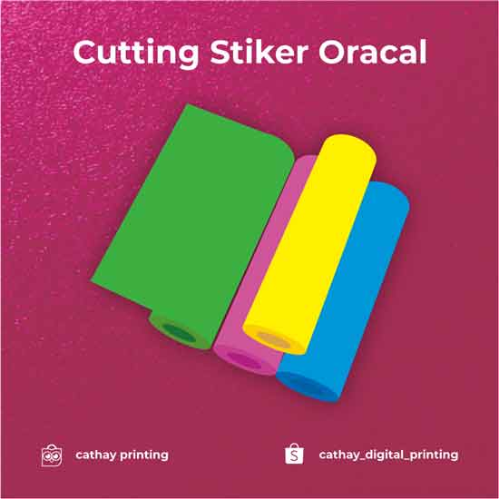Cuttinig Stiker Oracal