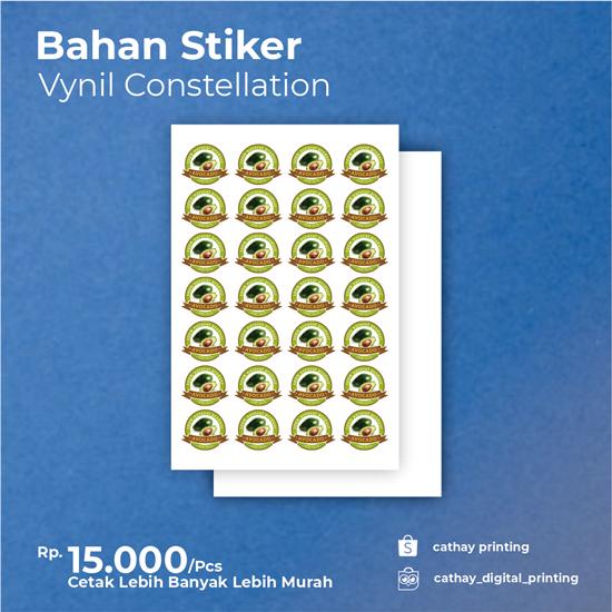 Stiker Vynil Label Constellation
