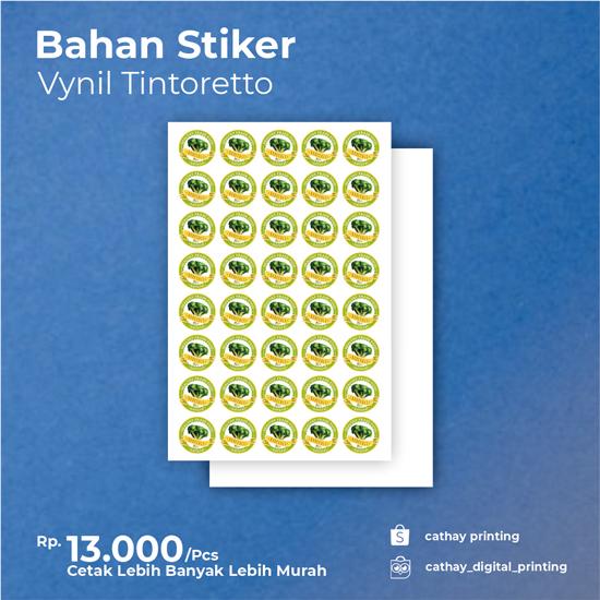 Stiker Vynil Label Tintoretto
