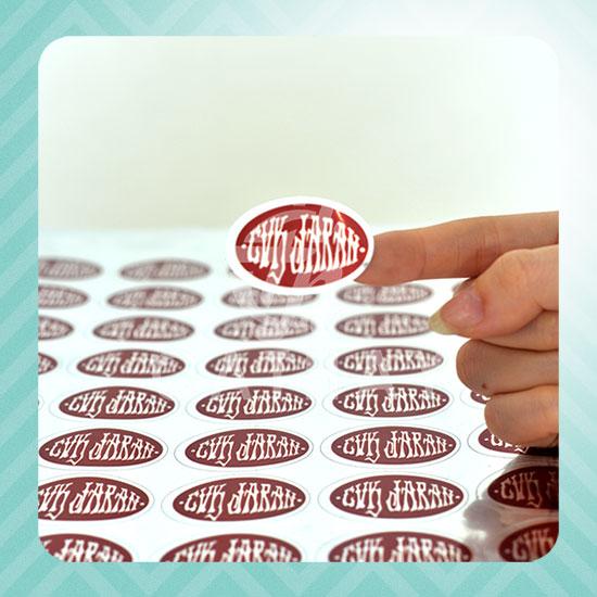Cetak Sticker per Meter