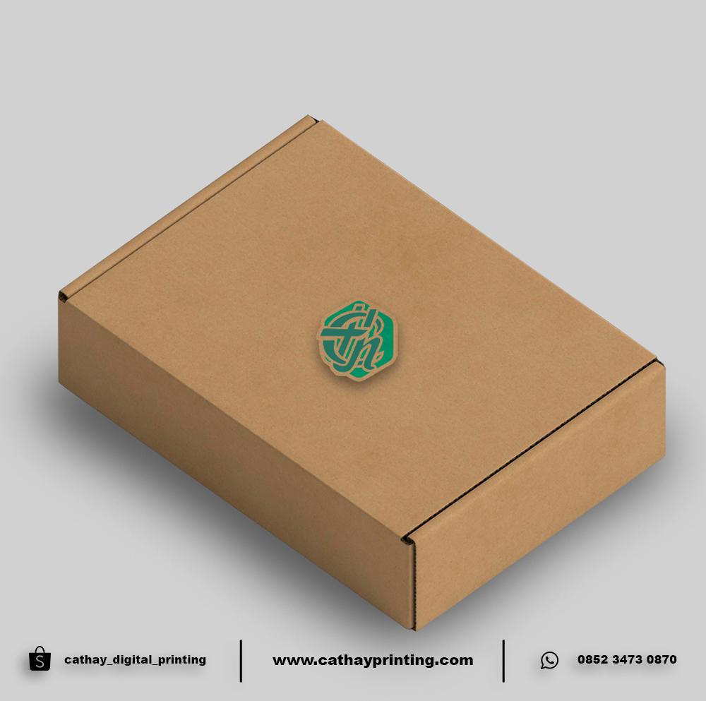 KARDUS PACKAGING A4 (21x30x4) BAHAN E FLUTE