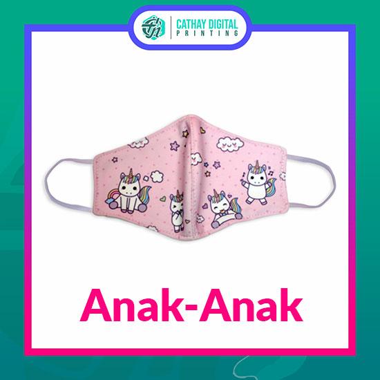 Masker Kain Fix Design (Anak-anak)