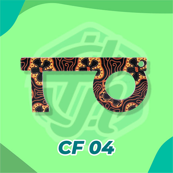 Corona Finger Akrilik CF04 (Batik)